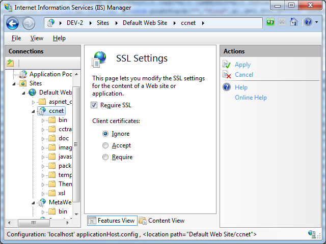 An Alternative To Redirecting Http To Https In Iis 7